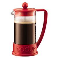 Френч-пресс Bodum Brazil 350мл красного цвета, фото
