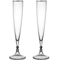 Набор бокалов для шампанского Rogaska Remembrance 28см, фото