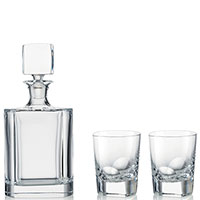 Набор для виски Rogaska Manhattan из 3 предметов, фото
