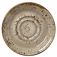 Блюдце Steelite Craft Porcini 14,5см из керамики, фото