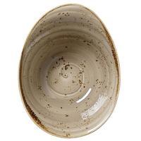 Асимметричная пиала Steelite Craft Porcini 18см коричневого цвета, фото