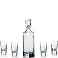 Набор для водки Rogaska Manhattan из 5 предметов, фото
