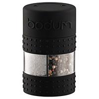 Мельница Bodum Bistro для соли и перца черного цвета, фото