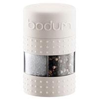 Мельница Bodum Bistro для соли и перца белого цвета, фото