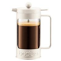 Френч-пресс Bodum Bean на 3 чашки с вставкой белого цвета, фото