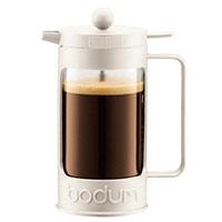 Френч-пресс Bodum Bean на 8 чашек с вставкой черного цвета, фото