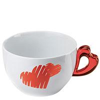 Чашка для завтрака Guzzini Love 350мл, фото