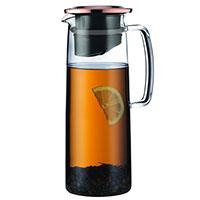 Кувшин Bodum Biasca для холодного чай с крышкой медного цвета 1,2 л, фото
