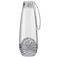 Бутылка для воды Guzzini Feel серого цвета 750мл, фото