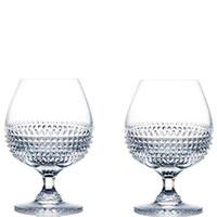 Набор бокалов для коньяка Rogaska Diamond из 2 штук, фото