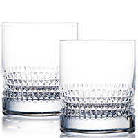 Набор стаканов Rogaska Diamond для виски 10см из 2 штук, фото