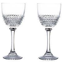 Набор бокалов Rogaska Diamond для красного вина из 2 штук, фото