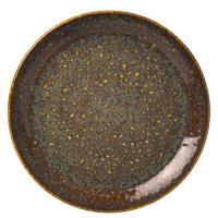 Тарелка Steelite Vesuvius Amber коричневого цвета 23см, фото