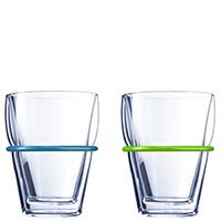 Набор стаканов Schott Zwiesel Summermood Color с цветными вставками, фото