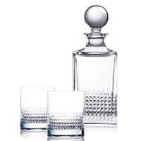 Набор для виски Rogaska Diamond из 3 предметов, фото
