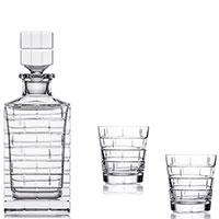 Набор для виски Rogaska Qouin из 3 предметов, фото