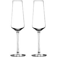Набор бокалов Rogaska Stop для шампанского из 2 штук, фото