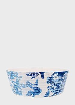 Блюдо Villa Grazia Вечерний гранат 35см из керамики, фото