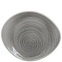 Тарелка Steelite Scape Grey из фарфора 30,5см, фото