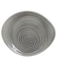 Тарелка Steelite Scape Grey серого цвета 25см, фото