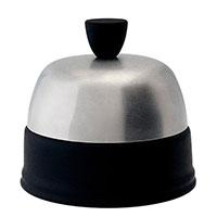 Фарфоровая сахарница с крышкой из нержавеющей стали Degrenne Paris Salam Noir, фото