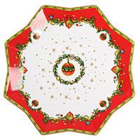 Керамическое блюдо Palais Royal Рождественские колокольчики, фото