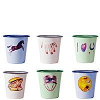 Набор чашек Seletti Toiletpaper из 6 шт, фото