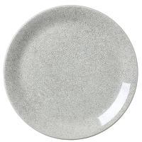 Тарелка Steelite Ink Crackle серого цвета 25см, фото