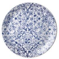 Тарелка Steelite Legacy Blue из керамики 25см, фото