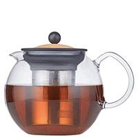 Заварочный чайник Bodum Assam с фильтром 1 л, фото