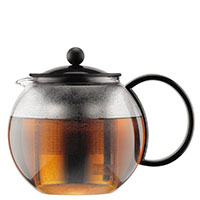 Заварочный чайник Bodum Assam с прессом и фильтром 1 л, фото