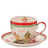Чайная чашка с блюдцем Palais Royal Теплые поздравления, фото