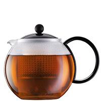 Заварочный чайник Bodum Assam с прессом 1л, фото