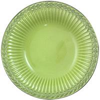 Набор из 6 суповых тарелок Bizzirri Venezia Verde, фото