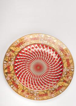 Фарфоровая тарелка Rosenthal Versace Bright Christmas 18см, фото