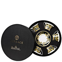 Чайный набор Rosenthal Versace Prestige Gala на 6 персон, фото