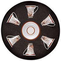 Кофейный сервиз Rosenthal Versace Etoiles de la Mer для эспрессо 6 персон, фото