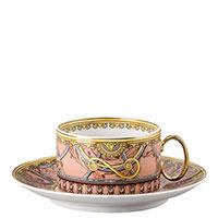Чайный сервиз Rosenthal Versace Scala Palazzo Rosa на 6 персон, фото