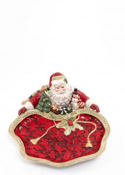 Керамическое блюдо Fitz and Floyd Рождественские эмоции, фото