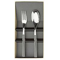 Сервировочный набор из двух предметов Degrenne Paris Quarts Carbone серый, фото