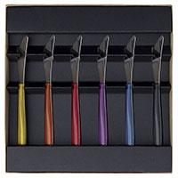 Набор ножей для масла Degrenne Paris Quartz MultiColore 6 предметов, фото