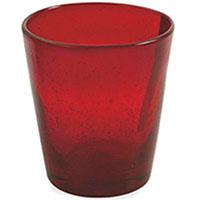 Стакан для воды Villa d'Este красного цвета, фото