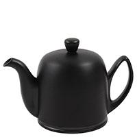 Чайник заварочный Degrenne Paris Salam 700 мл черный матовый с алюминиевым колпаком, фото