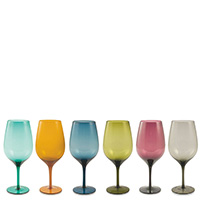 Набор бокалов для вина Villa D'este 6шт , фото