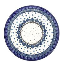 Обеденная тарелка Ceramika Artystyczna Васильки, фото