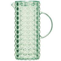 Кувшин с крышкой Guzzini Tiffany зеленого цвета 1,75л, фото