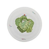 Фарфоровая тарелка Degrenne Paris Les Amis du Potager 17 см для детского завтрака, фото