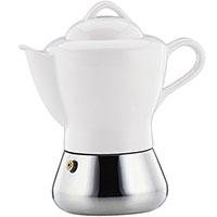 Кофеварка Cilio Coffee and Tea на 4 чашки из фарфора, фото
