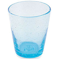 Стакан для воды Villa d'Este голубого цвета, фото