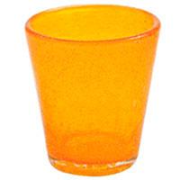 Стакан для воды Villa d'Este оранжевого цвета, фото